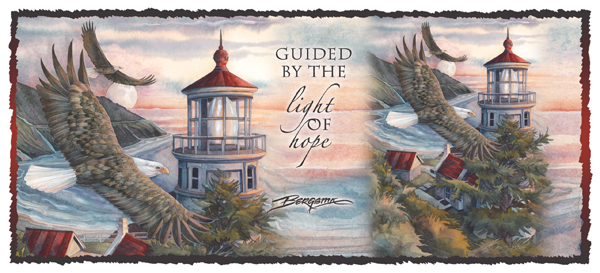 Guided By The Light Of Hope - Mug