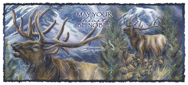 May Your Heart Be Noble - Mug