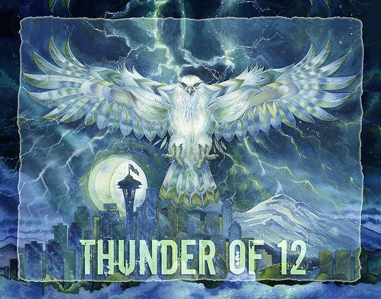 'Thunder of 12' Poster