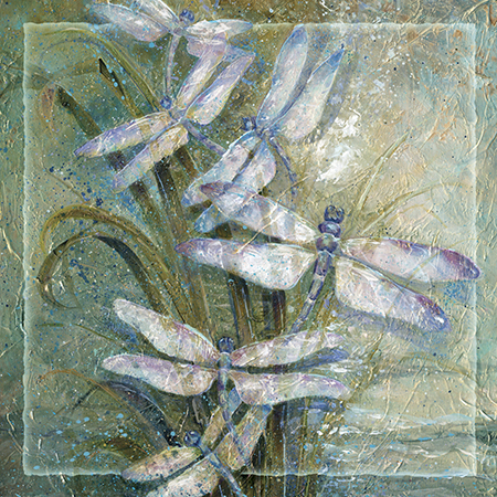 'Twilight Dancers' - Tile