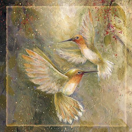 'Happy wings' - Tile