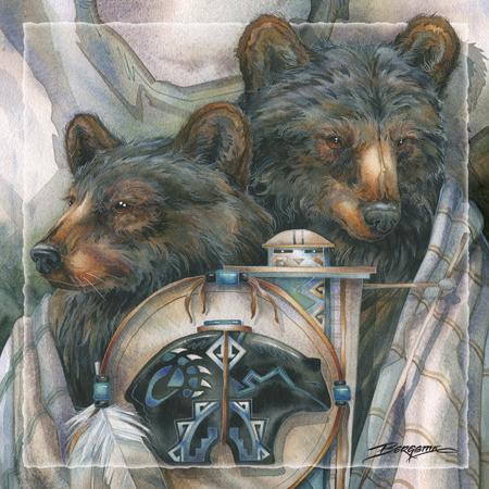 Bear Medicine - Tile