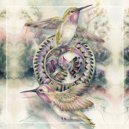 Dancing Wings - Tile