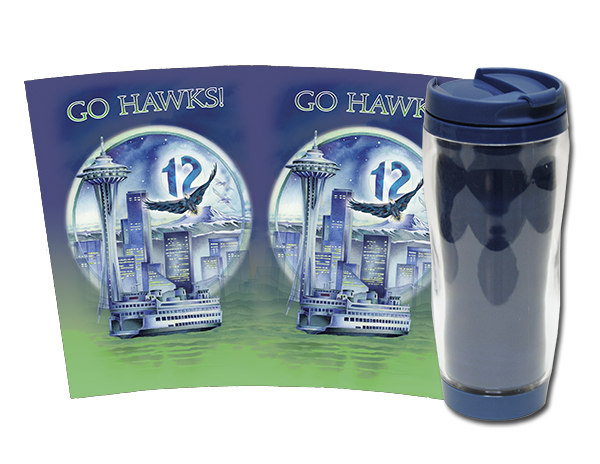 'Hawk Power!' - Travel Mug