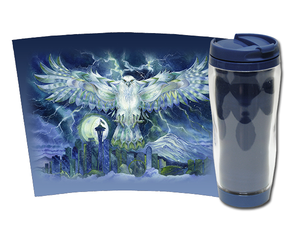 'Thunder of 12' - Travel Mug