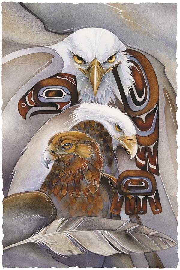 Eagle Spirit Large Prints (Click for options & image enlargement)