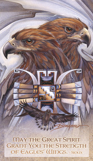 Eagles (Golden) / Sky Gods - Mailable Mini