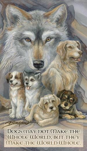 Dogs / Companions - Mailable Mini