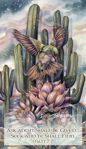 Hummingbirds / Jewel Of The Desert - Mailable Mini