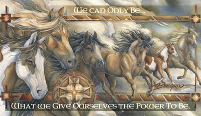 Horses / Companions Of The Wind - Mailable Mini