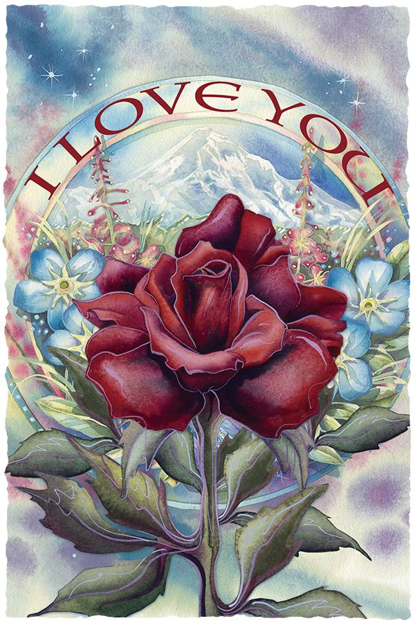 I Love You - Art Card