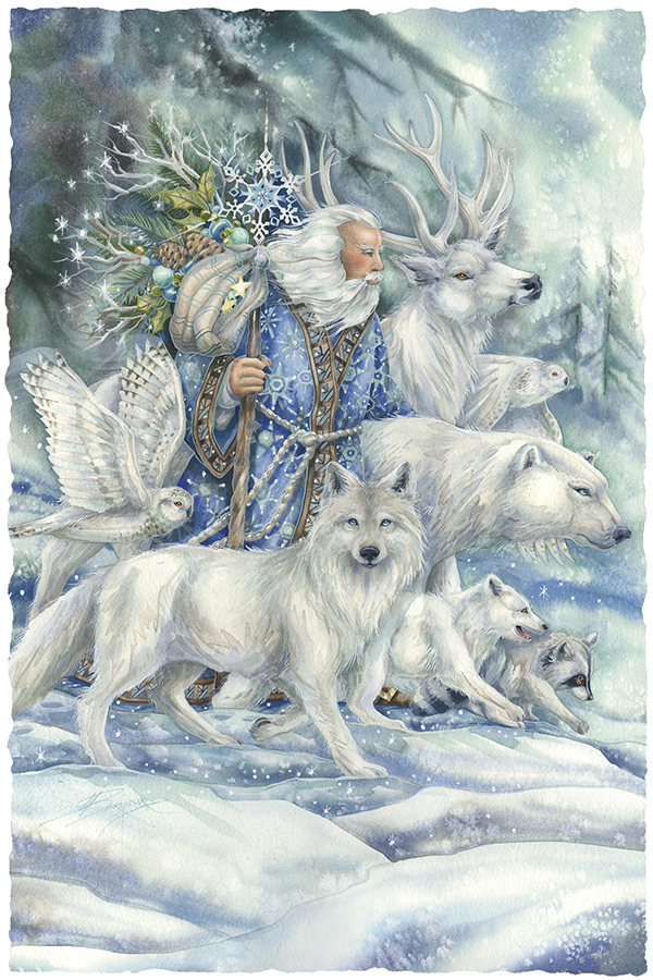 May The Cool Winds Of The North Gather Your Friends With Love Large Prints (Click for options & image enlargement)