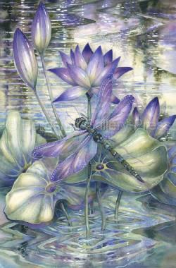 Amethyst Sunrise...A New Day Begins - Art Card