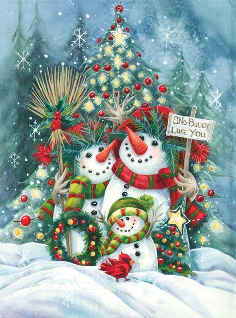 'Sno Buddy Like You' Holiday Greeting Card