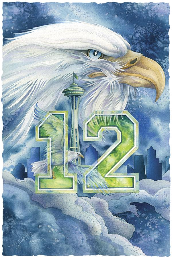 Hawks Nation Large Prints (Click for options & image enlargement)