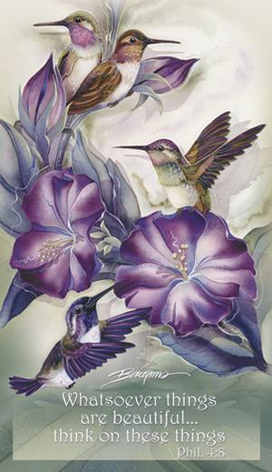 Hummingbirds / Hummertime - Mailable Mini