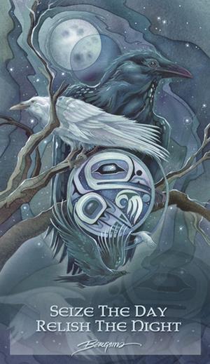 Ravens / Raven Moon - Mailable Mini