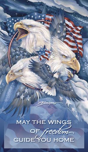 Eagles (Patriotic) / Allegiance - Mailable Mini