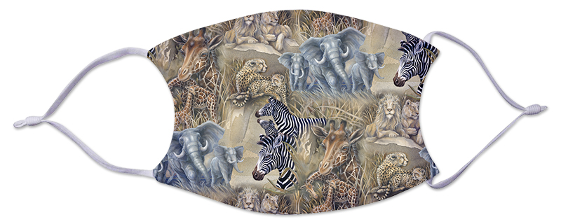 Face Mask - African Animals