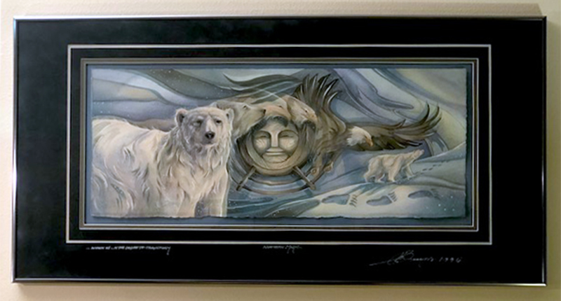 1995 - Transformed From Land To Sky - Original Painting