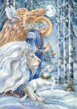 'The Herald of Peace' Holiday Greeting Card