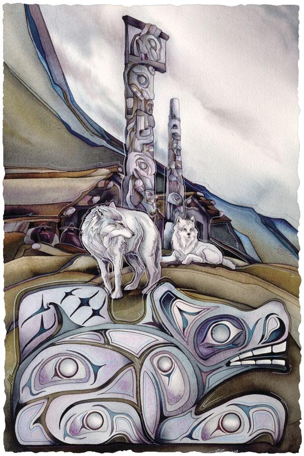 Totem Wolf - Prints