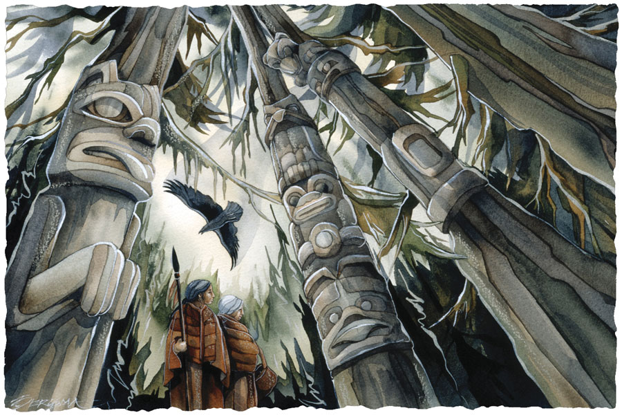 Raven's Wood - Prints