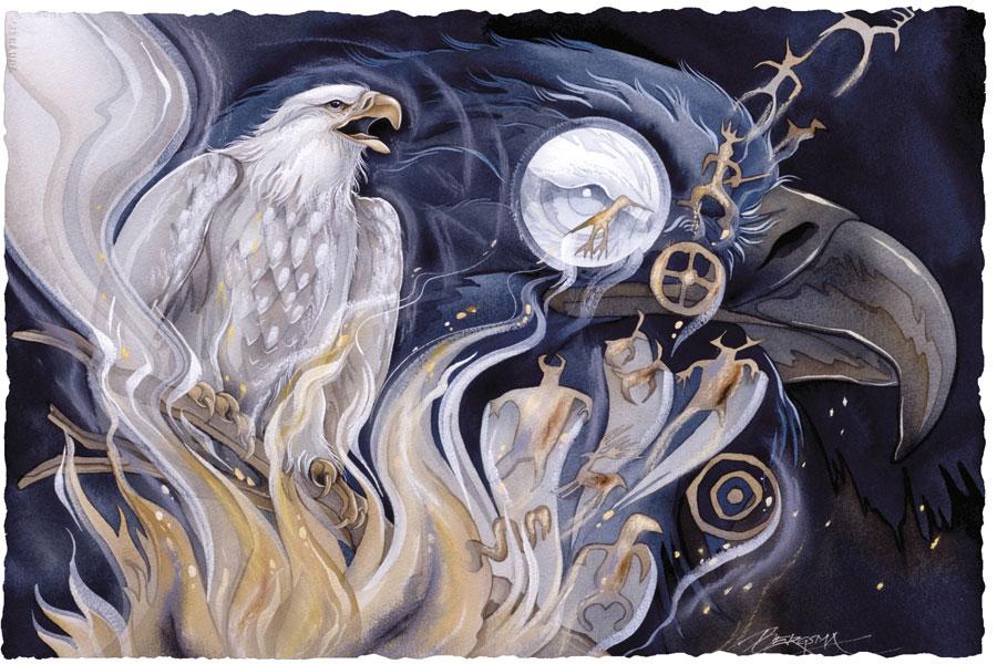 Return Of The White Eagle - Prints