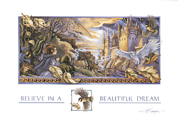 Believe In A Beautiful Dream - Art Card