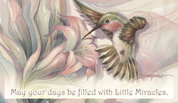 Hummingbirds / Spread Your Wings... - Mailable Mini