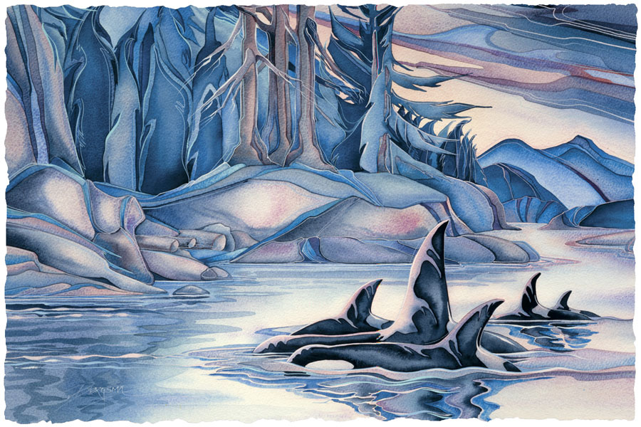 Orcas, At Home In The Islands - Prints