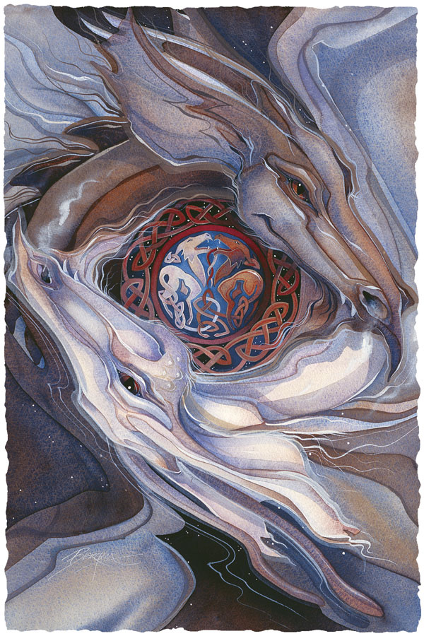 Dancing Dragons - Prints