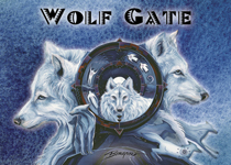Wolf Gate - Magnet