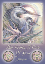 Held Within A Circle of Grace - Magnet