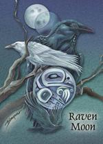 Raven Moon - Magnet