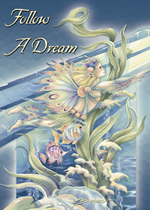 Mermaids & Sea Faeries / Follow A Dream - Magnet