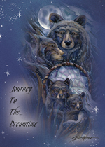 Journey To The Dreamtime - Magnet