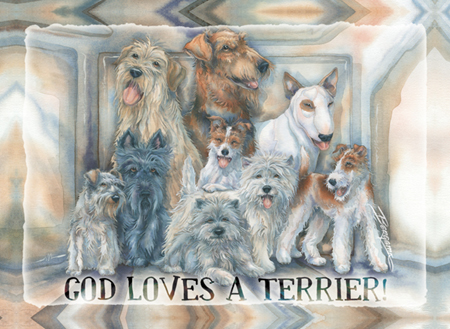 Dogs / God Loves A Terrier - Magnet