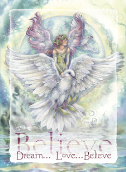 Dream... Love... Believe - Magnet