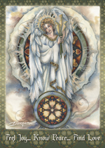 Spiritual Icon Series / Gabriel - Magnet