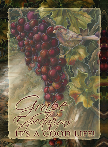 Vineyard / Grape Expectations - Magnet