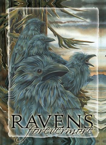 Ravens... Forevermore - Magnet