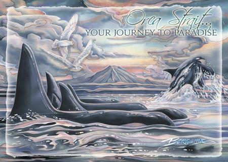 Orca Strait... - Magnet