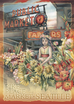 Children / Public Market - Magnet