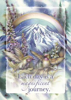 Each Day is a Magnificent Journey - Magnet