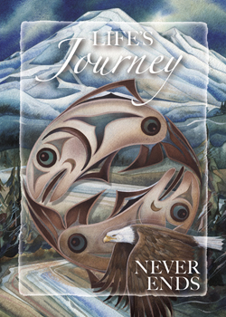 Life's Journey Never Ends - Magnet