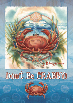 Don't Be Crabby - Magnet