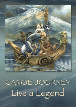 Canoe Journey - Magnet