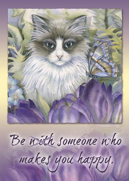 Cats / Garden Of The Heart - Magnet