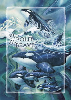 Be Bold, Be Brave - Magnet